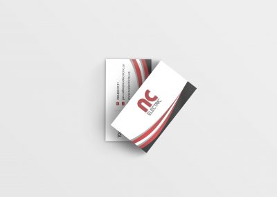 Business Card Design NC Electric